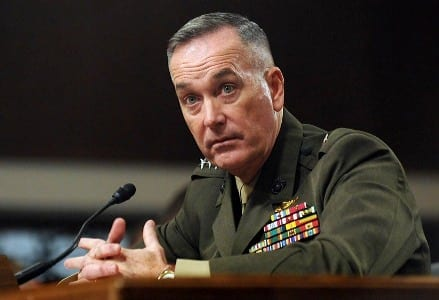 General Joseph F. Dunford, Jr., USMC testifies before the Senate Armed Services Committee.