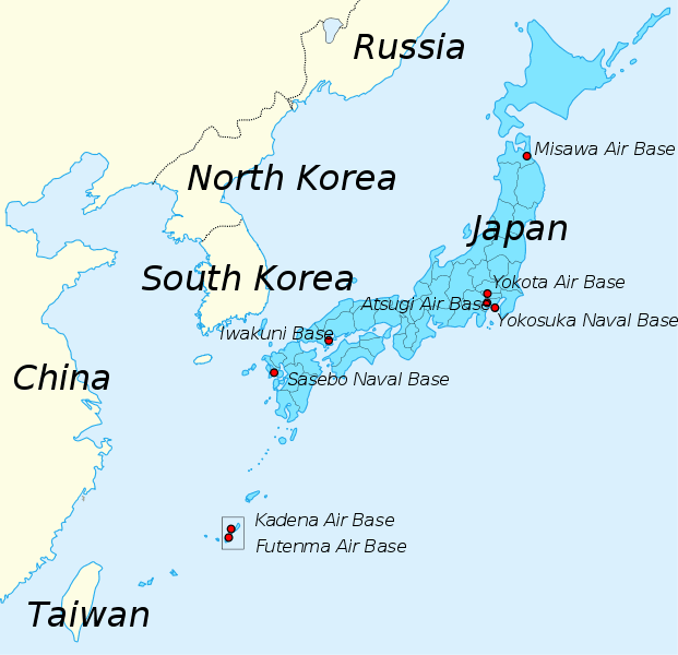 us military bases in japan the strategic importance is obvious