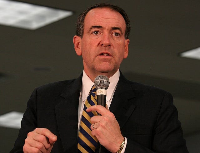 Malicious charlatans like Huckabee—the standard coin of American politics—are tansparently self-serving