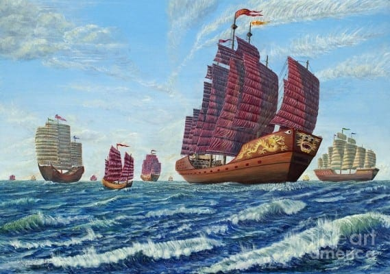 navy-chinese-treasure-fleet-sets-sail-anthony-lyon