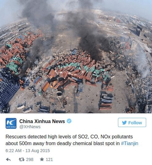 Tianjin port disaster