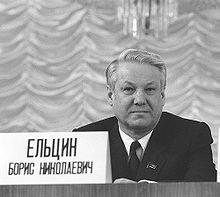Boris Yeltsin, Western tool.