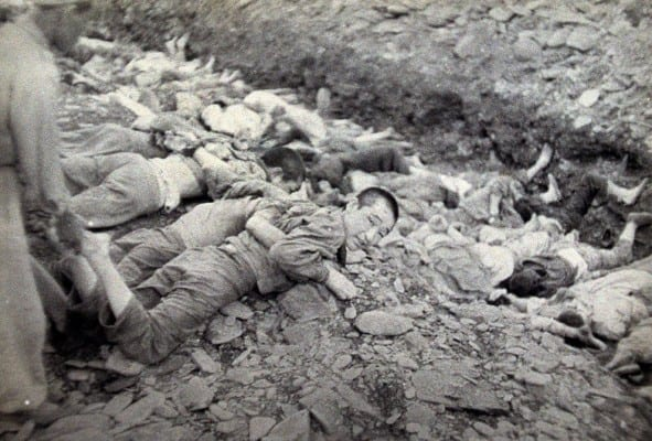 "South Korea: Mass execution of ""commies""—fully endorsed by the US army."