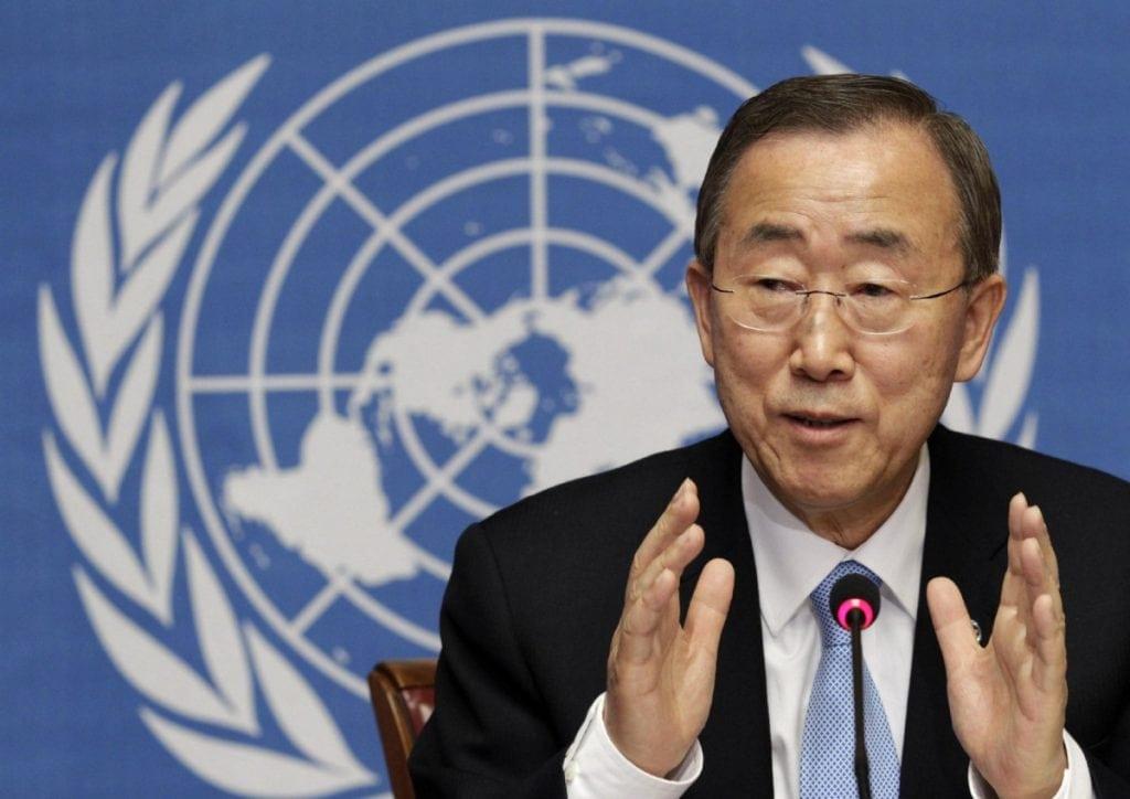 U.N. Secretary-General Ban Ki-moon (Reuters)