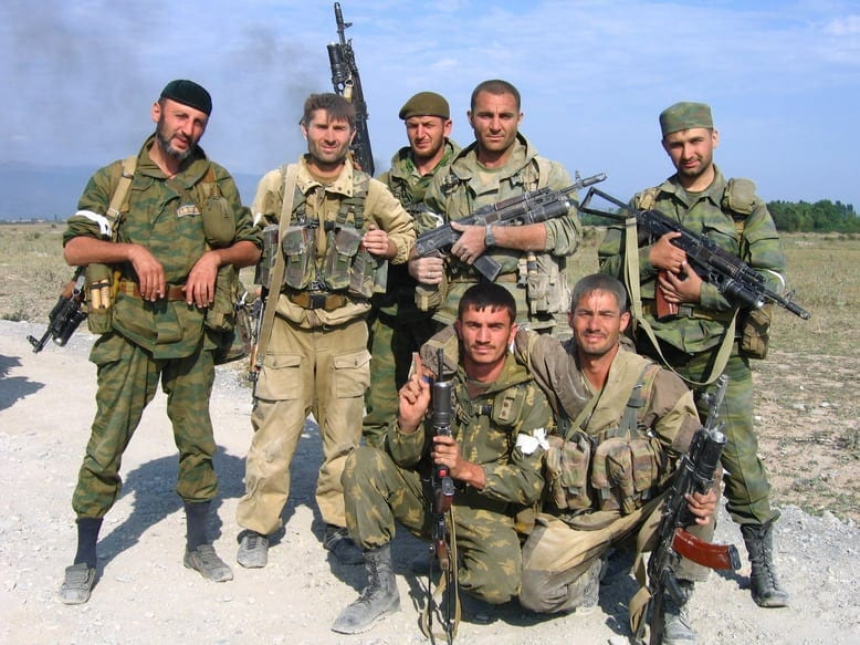 Members of the Vostok Battalion, the unit Texac just joined. (Wiki Commons)