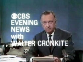 Cronkite is still revered as an icon of journalistic integrity. But, did he know that America was a fraudulent democracy? And if he did why did he keep quiet?