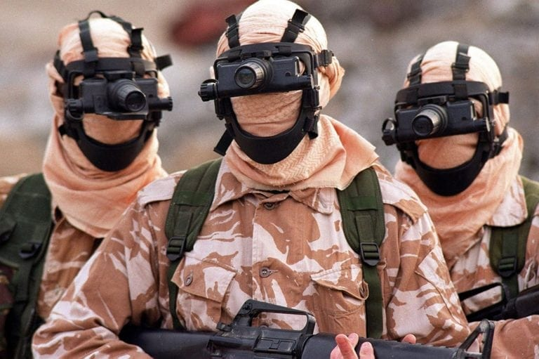 British Special Forces (SAS): what are they really doing in the Mideast?