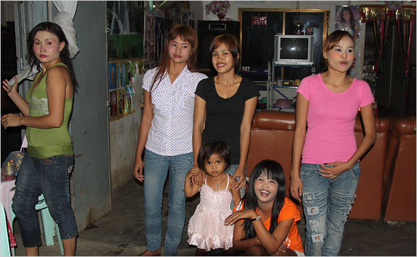 In Cambodia, as well as many other nations where poverty is rampant, prostitution starts early, often entire families are swallowed by these rackets.