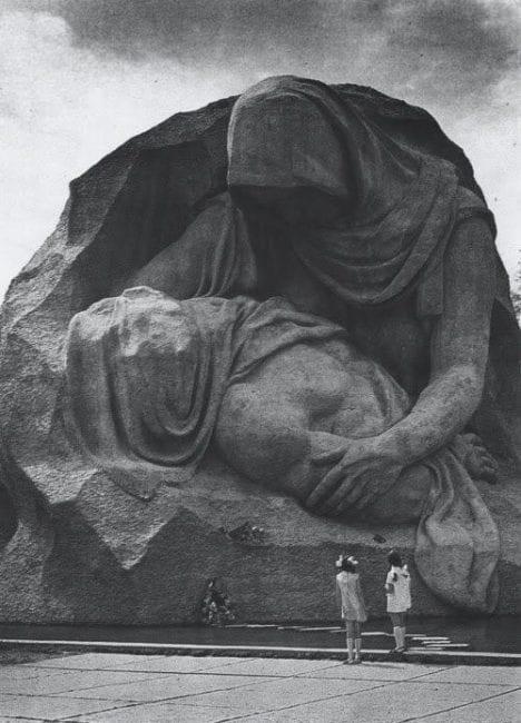 Mamayev's complex Pietá.