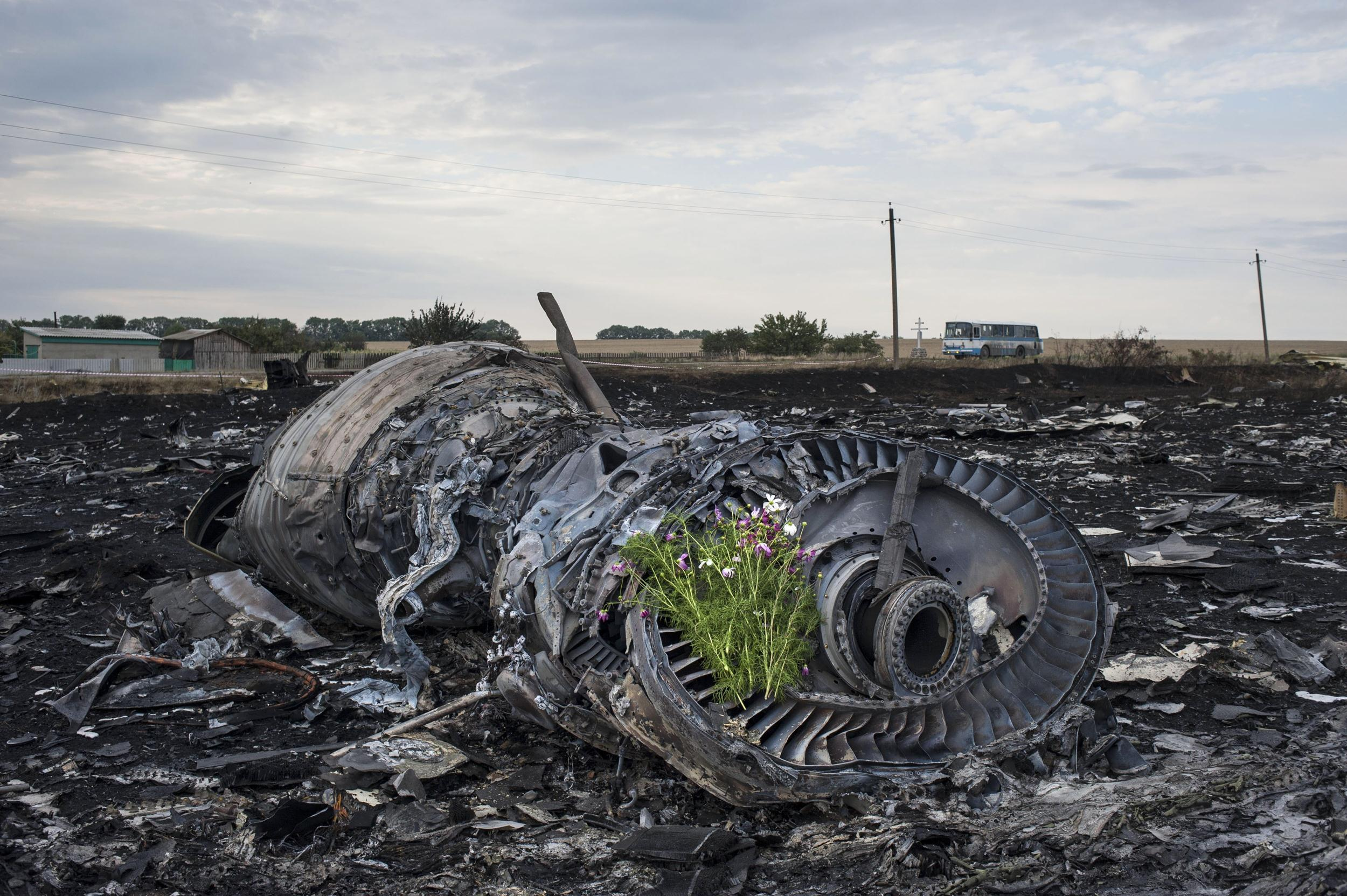 MH17 engine. All the credible evidence points to Kiev and Washington as the perpetrators, albeit protected by a huge propaganda shield. False flag, anyone?