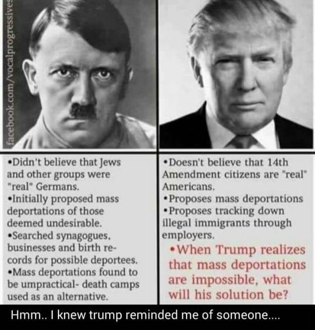 Hair Trump or Herr Trump?
