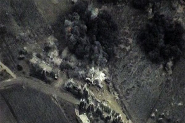Russian bombing ISIS.
