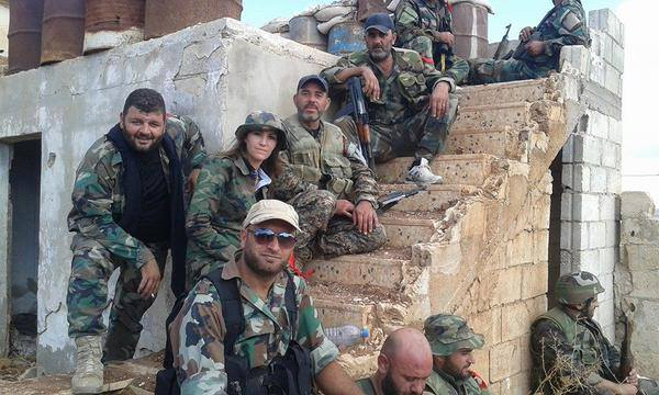 SAA fighters—the little credited Syrian Arab Army, one of the most resilient forces fighting ISIS.