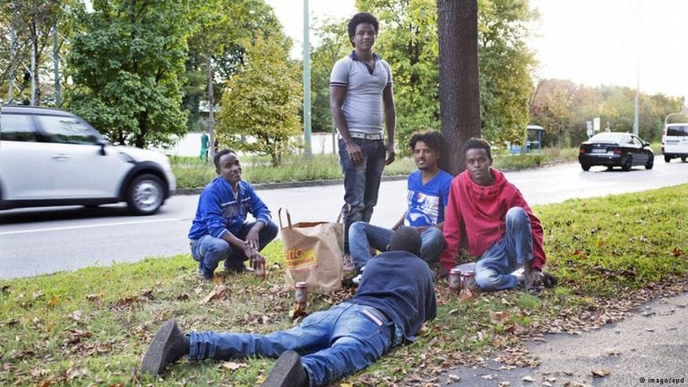 Eritreans in Germany.