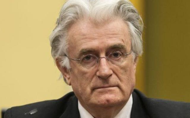 Radovan Karadzic, Bosnian Serb leader, one of the fall guys, like Milosevic.
