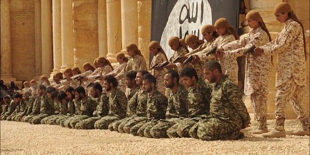 ISIS-PalmyraExecutionofSoldiers