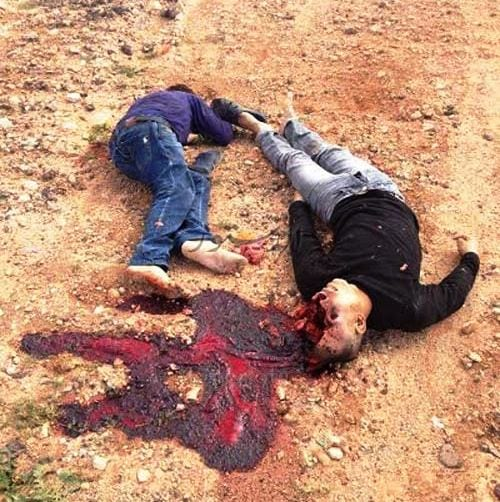 Coptic Christians were caught and killed by ISIS in Libya.