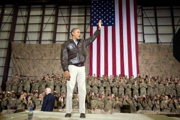 Obama, Bagram Afghanistan 2014