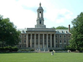 "Penn State ""Old Main"" by George Chriss (CC BY 2.5)."