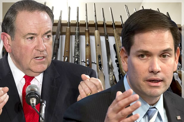 This photomontage by Salon captures two of the GOP bloviators expressing their silly views on social violence in America. Of course the last thing to be mentioned is that the culture is rotten by its underlying rotten vaues. (Credit: AP/Reuters/Lucas Jackson/Molly Riley/Lucy Nicholson/Photo montage by Salon)