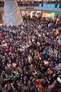 Black Lives Matter protest at Mall of the Americas 12/2014