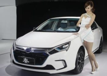 This BYD model is also quite attractive.