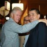 Bill Clinton, Haim Saban