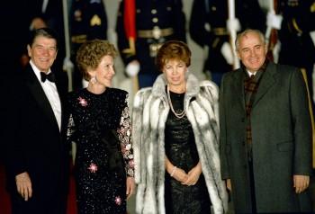 Reagans and Gorbachevs