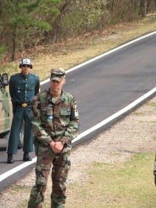 US and South Korean soldiers at the border with North Korea (Andre Vltckek)