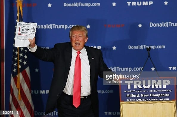 Donald Trump Holds Campaign Rally In NH After Iowa Caucuses