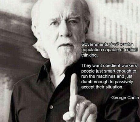 George Carlin on government