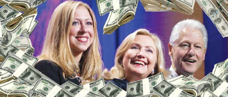 Hillary Clinton Foundation cash