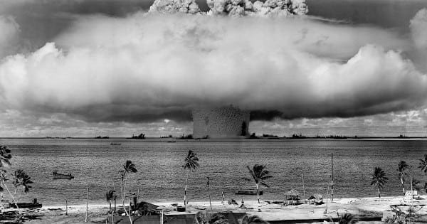 Bikini Atoll nuclear bomb test