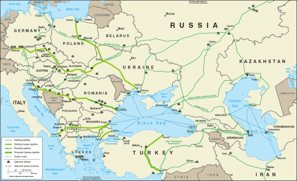 """The """"Friendship Pipeline""""—one of several schemes"""