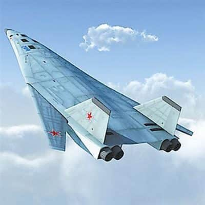 Like its U.S. counterparts, the Russian long range bomber will be equipped with hypersonic missiles that can fly at speeds of Mach 5. [http://groundreport.com/development-of-precision-weapons-is-one-of-russias-key-military-goals}