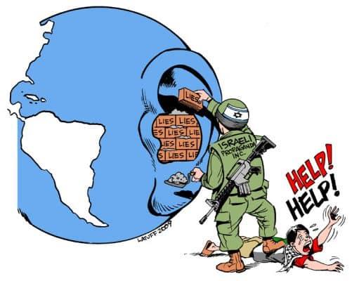 hasbara, Israeli propaganda