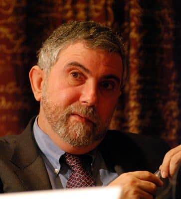 Krugman, poster boy for establishment liberals, embodies the many reasons this breed is undeserving of respect or
