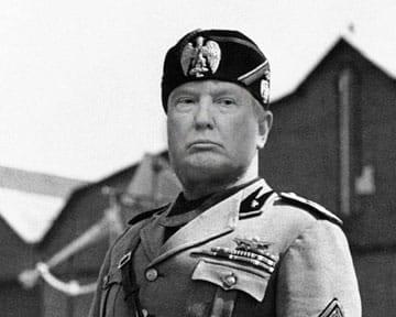 Trump authoritarian