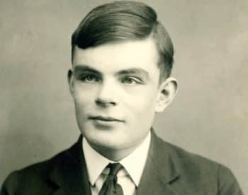 """Math genius Alan Turing in college. Always brilliant and """"eccentric"""" he was hounded in his life by the custodians of conventional morality."""