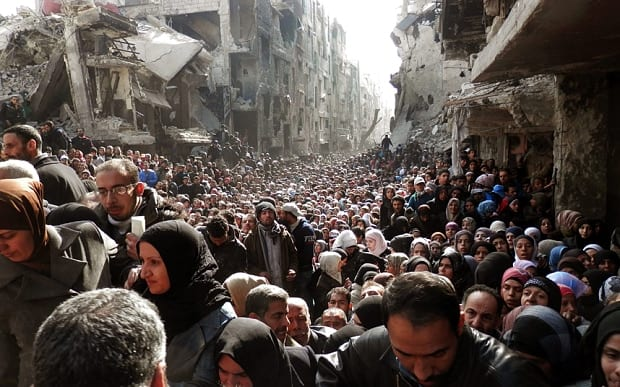 Yarmouk refugees