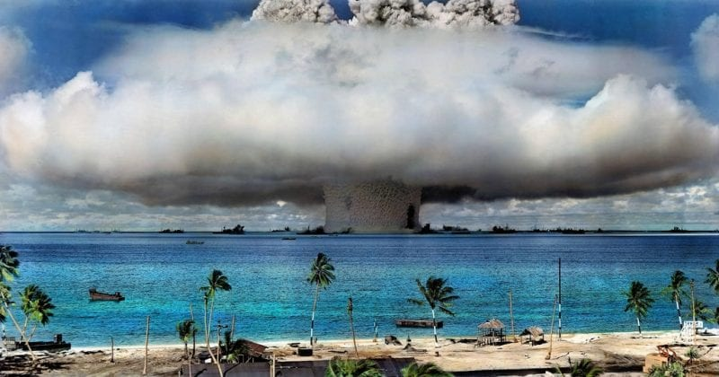 Nuclear weapons photo