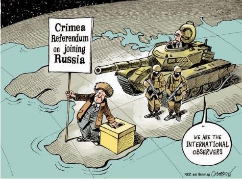 Crimean-Mockery