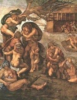 Michelangelo The Deluge