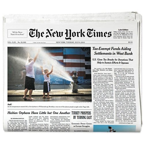 NYT-frontPage