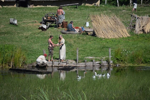 Viking Village Reenactment