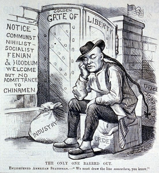 "Although always profoundly ""anti-subversive"" in its filtration rules, the Exclusion Act was primarily a racist instrument. It should also be recalled that in the last quarter of the 19th century, the Irish themselves were seen as ""niggers"" by the nativists, an extreme form of prejudice that now seems absurd."
