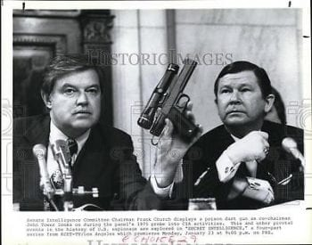 Senator Church poison dart gun