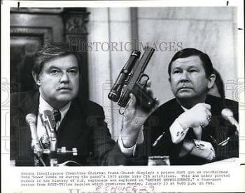 Senator Church poison dart gun