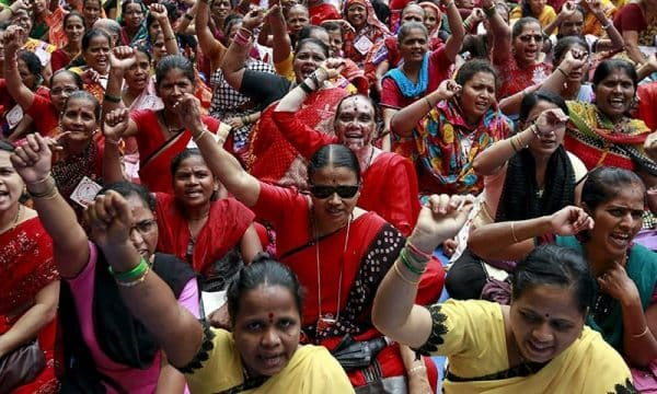Indian strike
