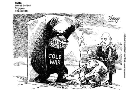 INVERSION OF TRUTH Perversely mendacious cartoons pollute the Western media daily.
